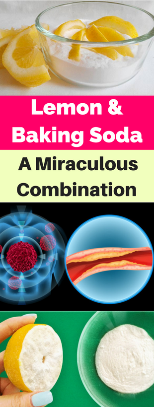 Lemon & Baking Soda-A Miraculous Combination!!!  #beautytips  #fitness #BakingSodaHair