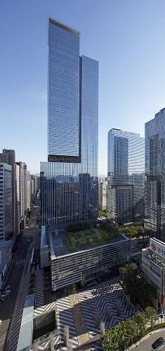 Samsung Seocho Towers, Seoul, South Korea by Kohn Pedersen Fox Associates and Samoo Architects & Engineers :: 42 floors, height 225m