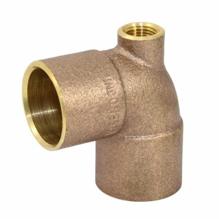 3 4 C X 1 2 Fpt X 3 4 C Cast Brass Baseboard Tee It Cast Brass Fittings Brass