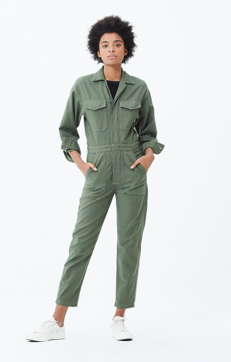 702dd5b85 Marta_Jumpsuit_In_Retreat Citizens Of Humanity, Parachute Pants, Fashion  Models, Dress Outfits, Costumes,