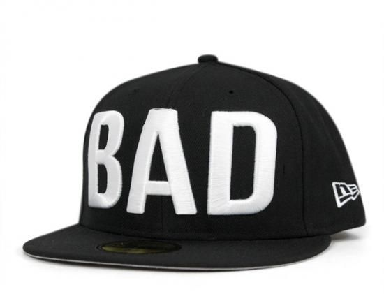 c400f3ded26 Bad Word Series 59Fifty Fitted Baseball Cap by ONSPOTZ x NEW ERA ...