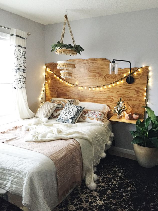 A Little Christmas Home Tour Earthy Bedroom Diy Bedroom