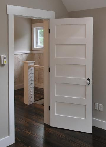 While many producers use their own advertising terms to the various base trims they produce most styles nonetheless drop within several also shaker solid wood panel slab interior door rh pinterest