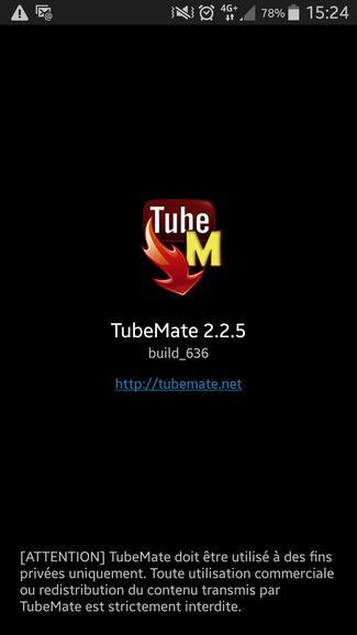 tubemate 2.2.5 gratuit tablette