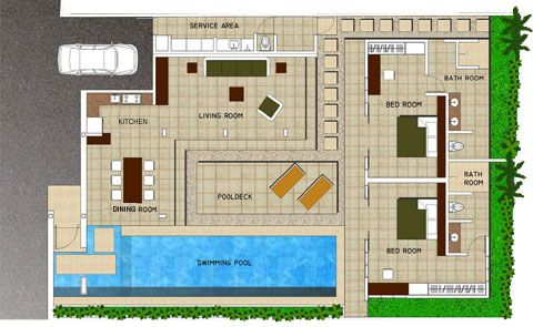 Modern house design plan on modern plans for villas medyalink com