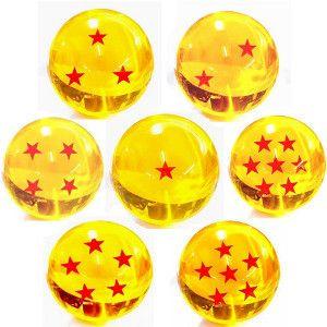 rplica das bolas de cristal esferas do drago de dragon ball z