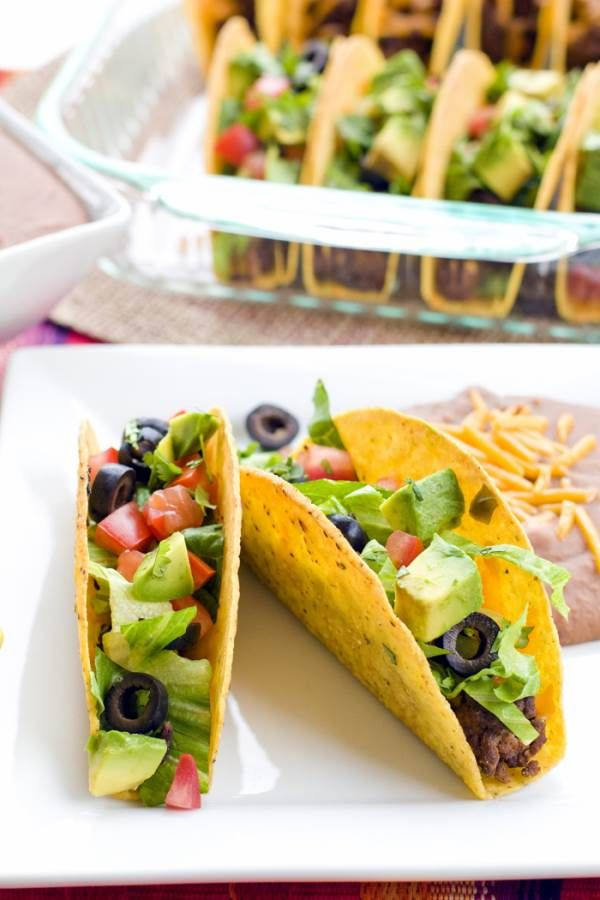 Oven Tacos Recipe • Food Folks and Fun