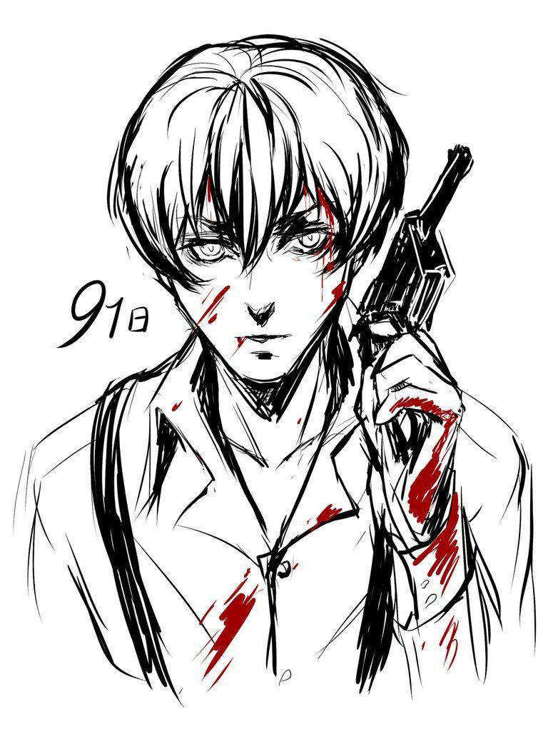Blood By Londeiiantart On @deviantart Gay Arthow To Drawpunkanime
