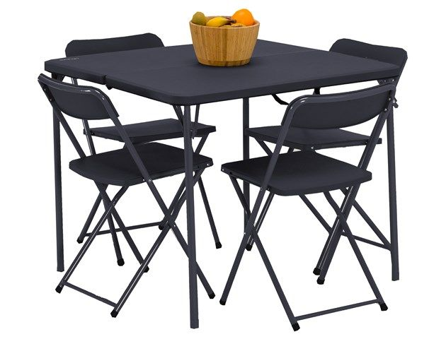 Pleasant Vango Dornoch Table And Chairs Set Go Outdoors Camping Machost Co Dining Chair Design Ideas Machostcouk