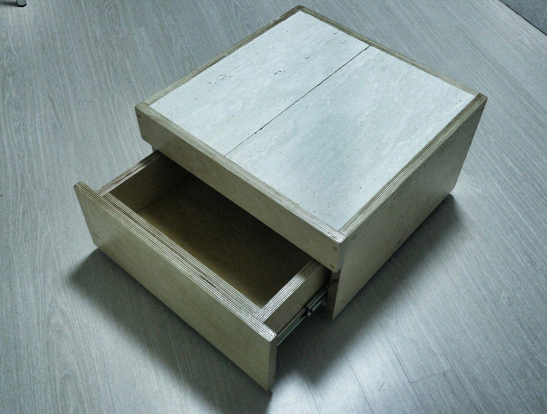 Small tea table : 폐자재 활용