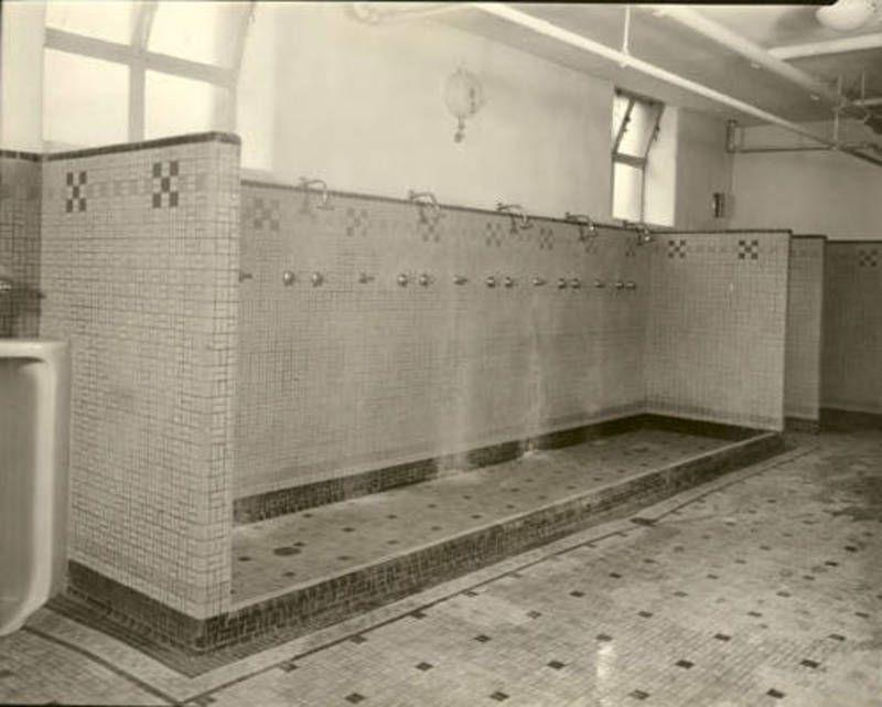 School Gym Communal Showers Childhood Memories