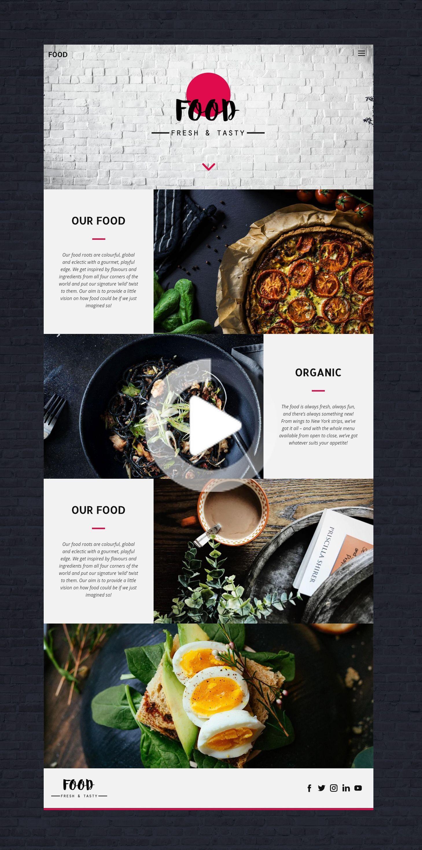 Restaurant Web Templ