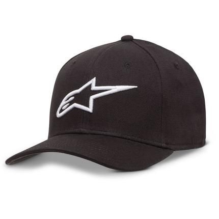 bcb472aeb27c7 Alpinestars 2019 Ageless Curve Black White Hat