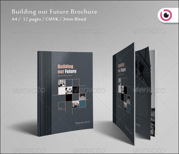 Free  Premium Corporate Brochure Design Templates