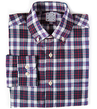 Indian Madras Shirt Collection from Kiel James Patrick