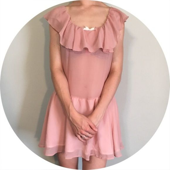 For Love and Lemons Off-Shoulder Dress Cheaper on Merc. Pink off shoulder dress from for love and lemons. Middle part is sheer to show off your body. New with tags. For Love and Lemons Dresses Mini