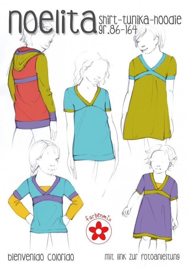 Noelita, Papierschnittmuster - farbenmix Online-Shop - Schnittmuster ...