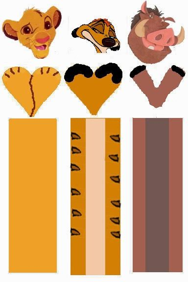 the lion king free printable original nuggets wrappers