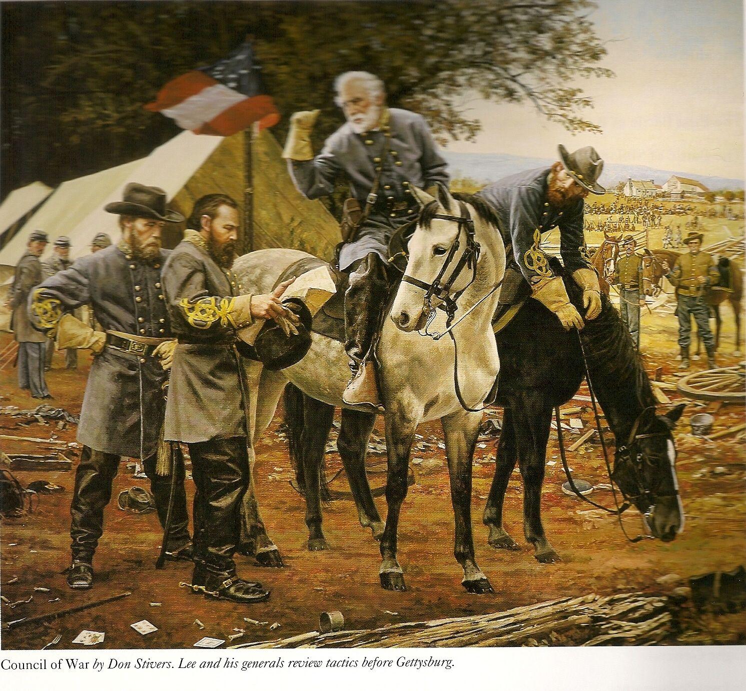 guerra de secesion americana | MAPAS DE BATALLAS DE LA GUERRA CIVIL ...