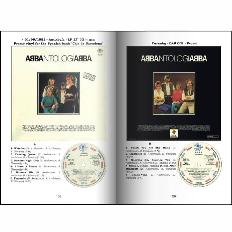 Abba Worldwide Spain Discography Record Guide 1973 1992 Abba Records Paperback Books
