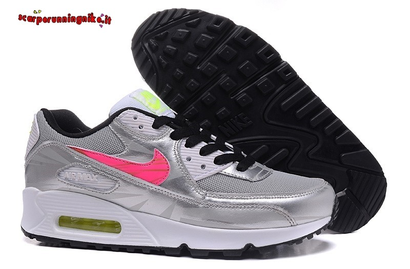 air max 90 donna argento