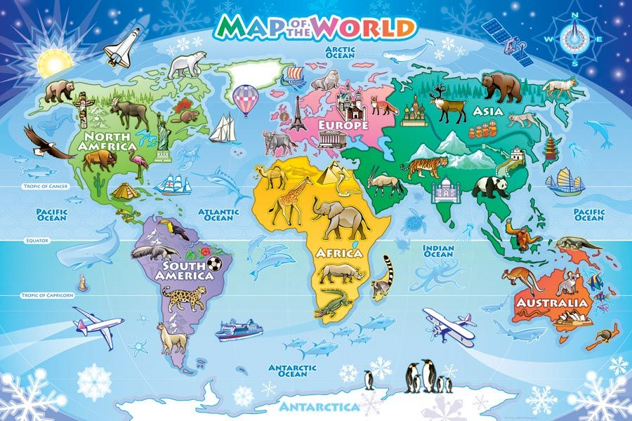 Map of the world floor puzzle is a kids floor puzzle with 48 large map of the world floor puzzle is a kids floor puzzle with 48 large size gumiabroncs Image collections