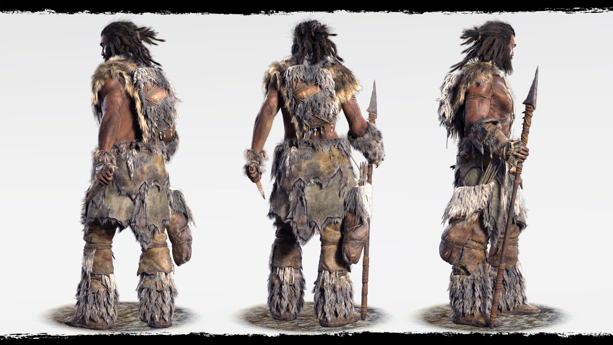 Far Cry Primal Takkar Clothing Far Cry Primal Prehistoric Creatures Prehistoric Animals