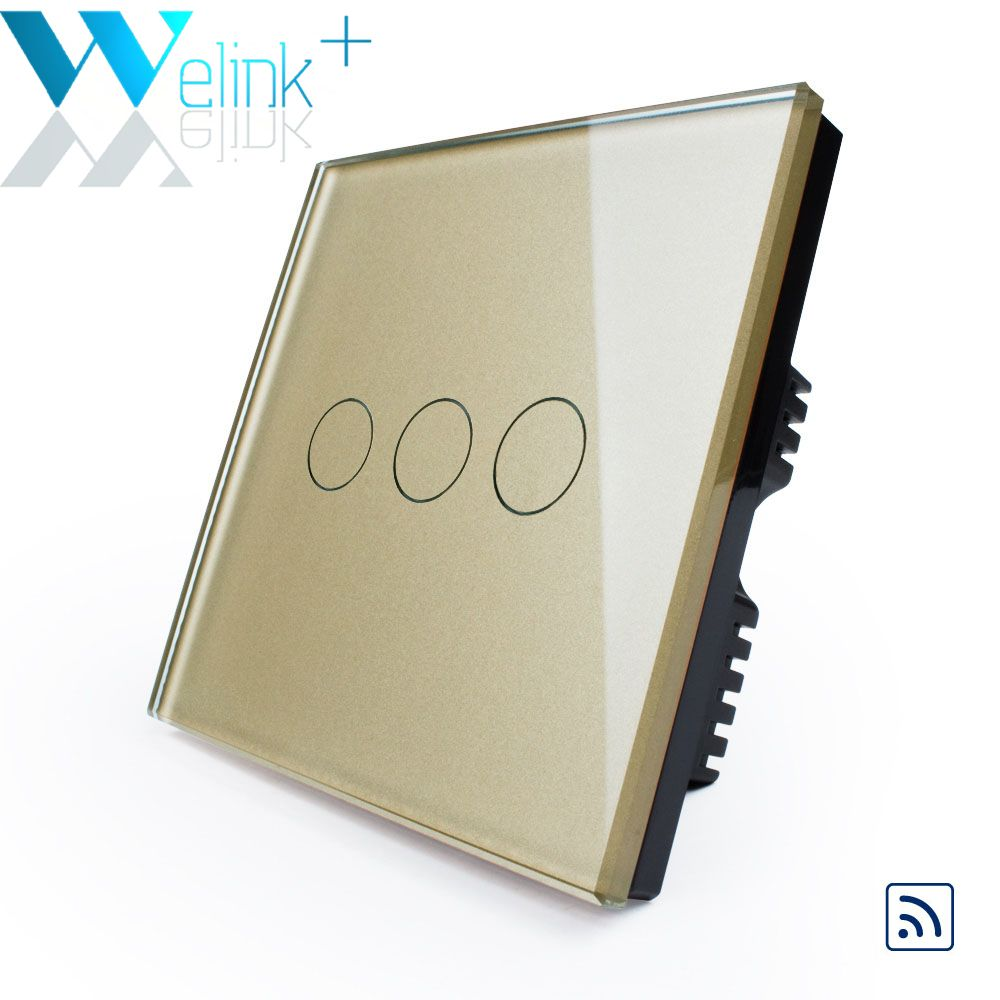 New Arrival, Remote Switch, UK standard, Luxury Crystal Glass Switch ...