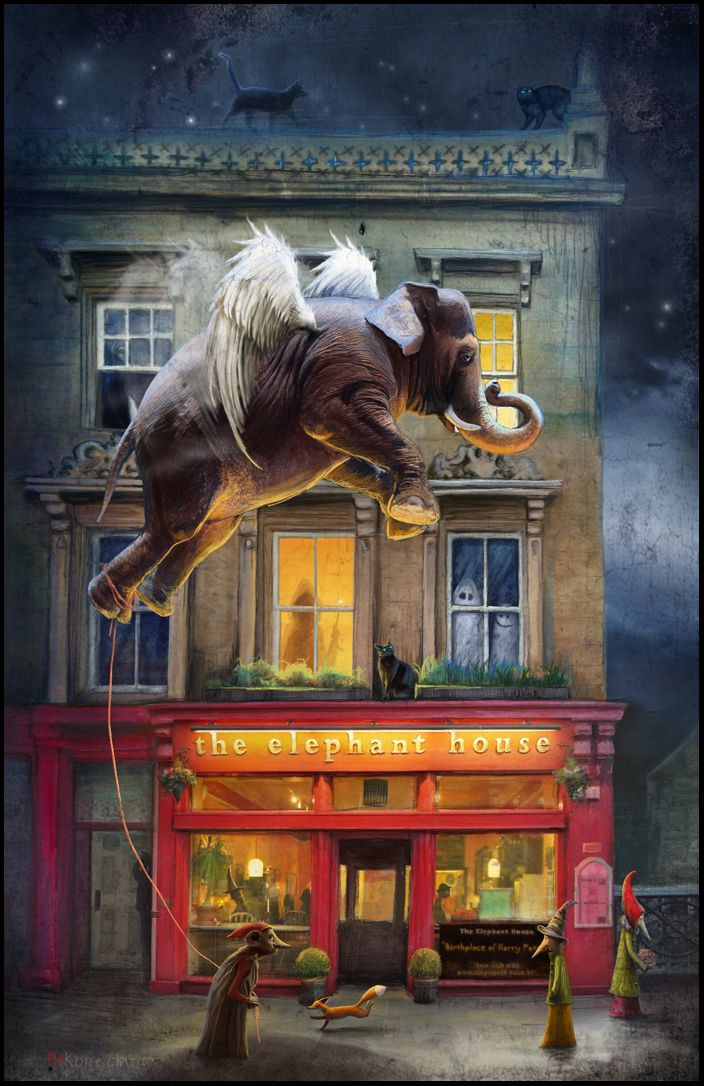 """The Elephant House"" / Edinburgh, Scotland. # harrypotter # edinburgh # j.k.rowling #matyldakonecka"