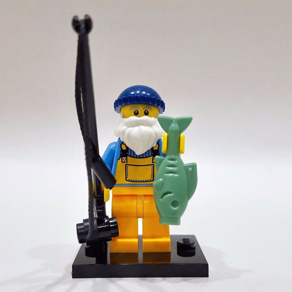 genuine lego minifigures the snowboarder from series 3