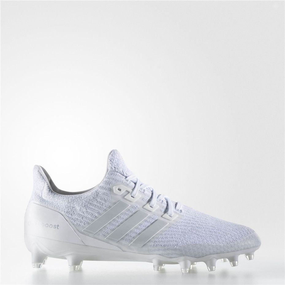 Adidas Ultraboost Cleats Running White Running White Clear Grey Adidas Soccer Shoes Adidas Ultra Boost Baseball Shoes