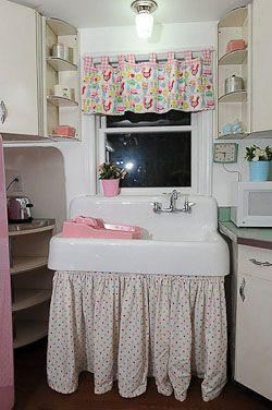 Farmhouse Laundry Room Curtains