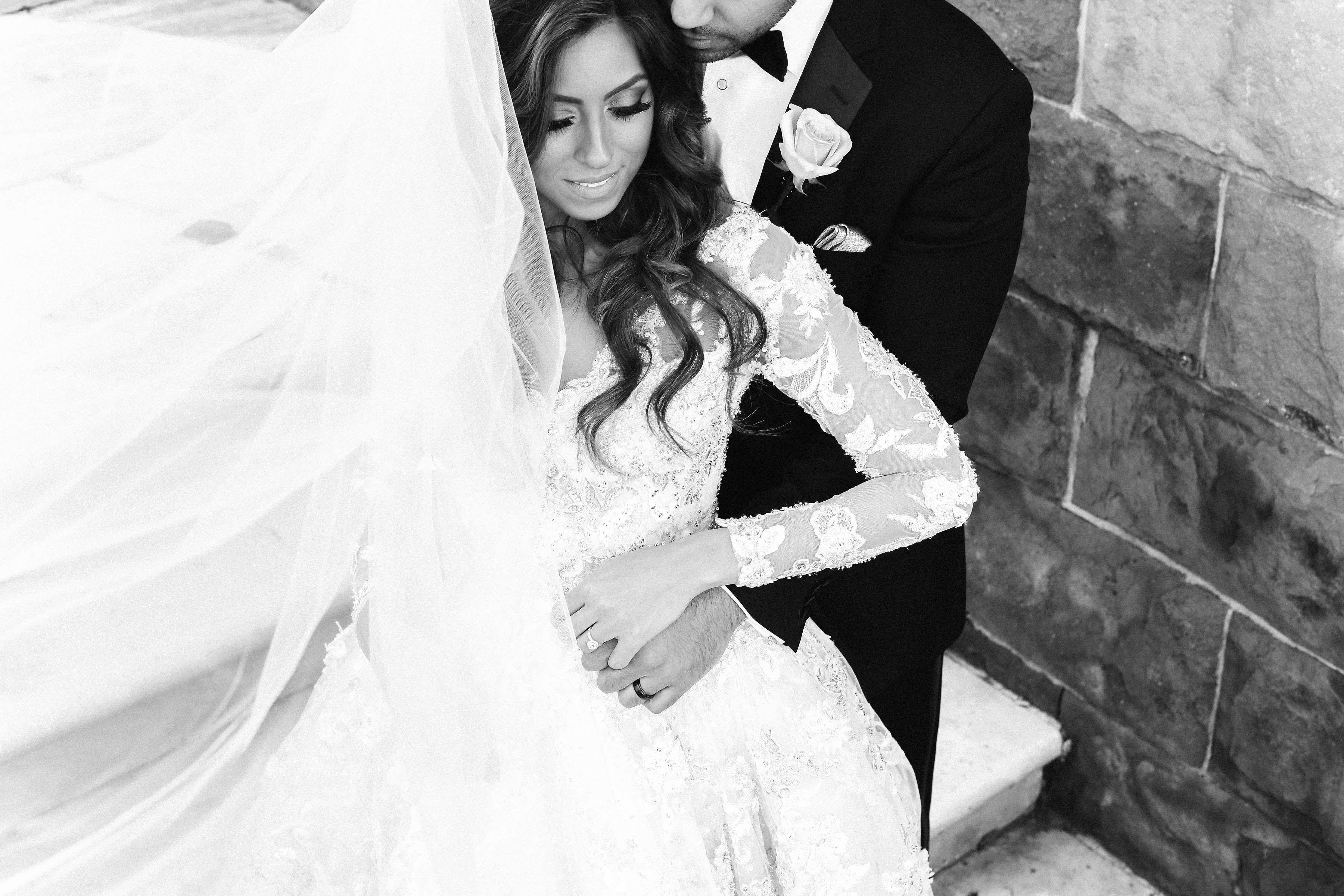Wedding dress huntsville al  spring wedding gorgeous wedding dressgown veil couple shot
