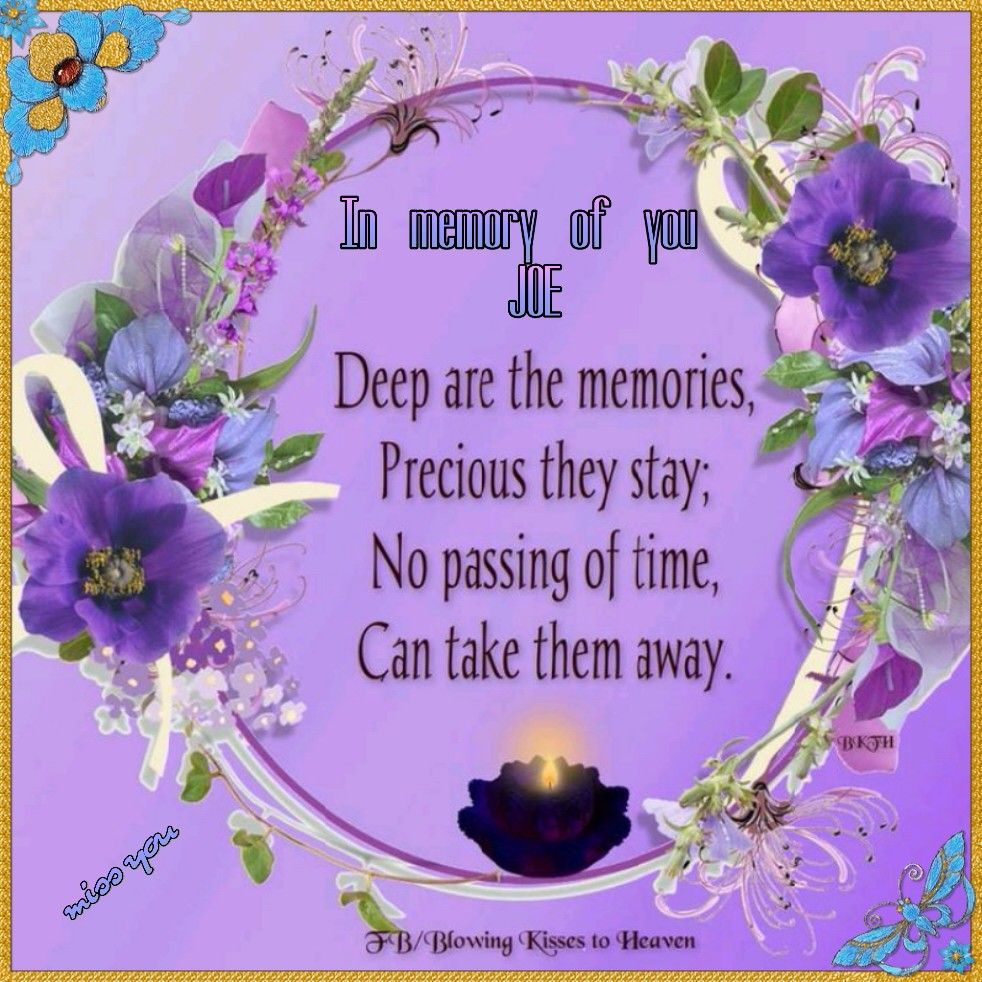 In Memory Of The 4th Anniversary Of My Brother In Law Miss You And Never Forgotten Memories Angels In Heaven Blowing Kisses