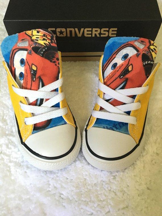 CARS Converse Shoes