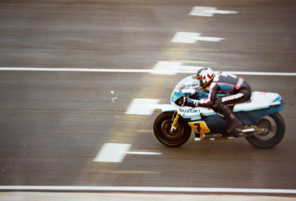Barry Sheene speed