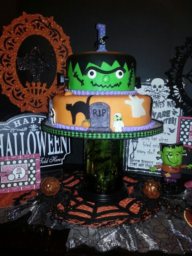 Frankenstein Birthday Cake By Jacquis Cake Creations Jacquis