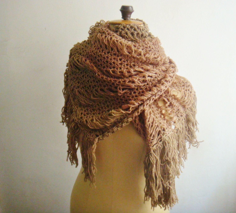 Knit Scarf PATTERN Extra Large Lace Scarf Shawl, 26 | Pinterest ...