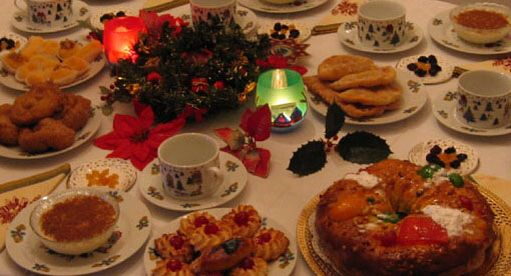 Portugueses Christmas table)