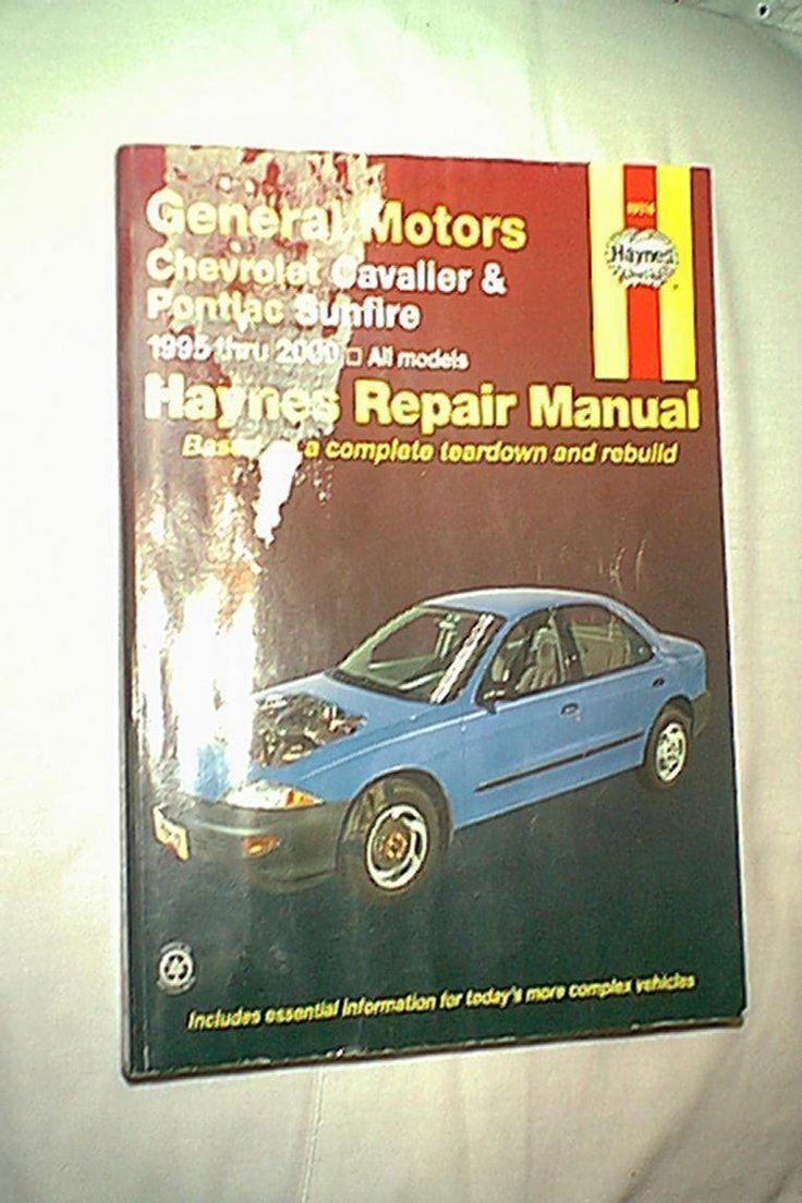 7.00 | HAYNES GM CHEVROLET CAVALIER PONTIAC SUNFIRE 1995-2000 REPAIR MANUAL  38016 ❤