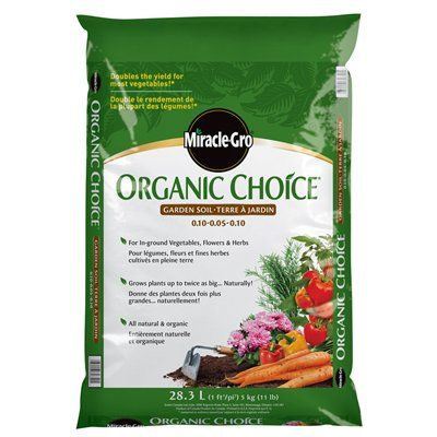 Miracle Gro Organic Choice® Flower And Vegetable Garden Soil