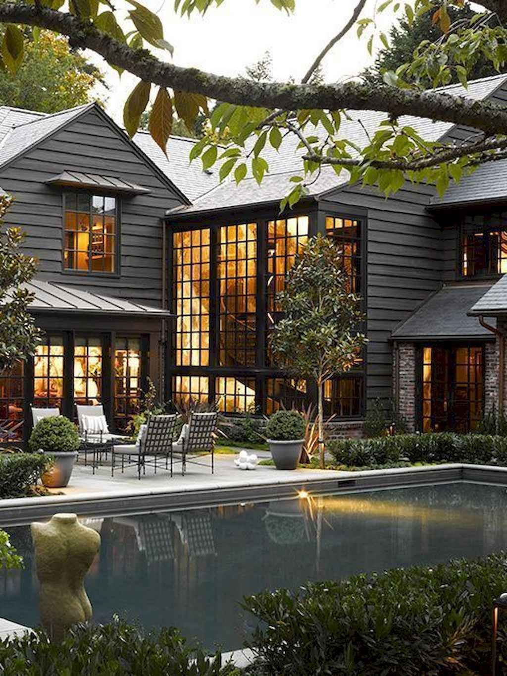 16 Enchanting Modern Entrance Designs That Boost The Appeal Of The Home: 01 Awesome Modern Farmhouse Exterior Design Ideas In 2020