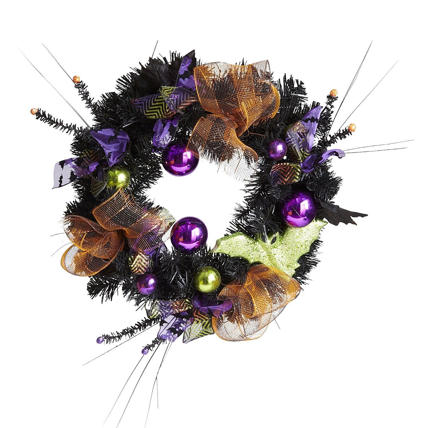 wreath Halloween, Halloween decorations, Elegant halloween
