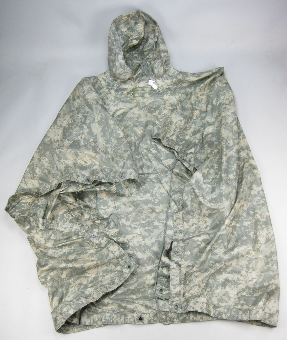 US GI US Army UCP ACU Camo Wet Weather Poncho Tarp Shelter Tent NEW NWT & US GI US Army UCP ACU Camo Wet Weather Poncho Tarp Shelter Tent ...