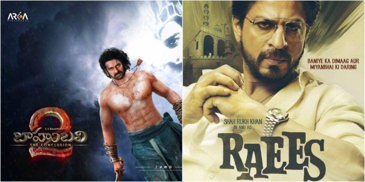 bahubali 2 teaser releasing with raees movie on january