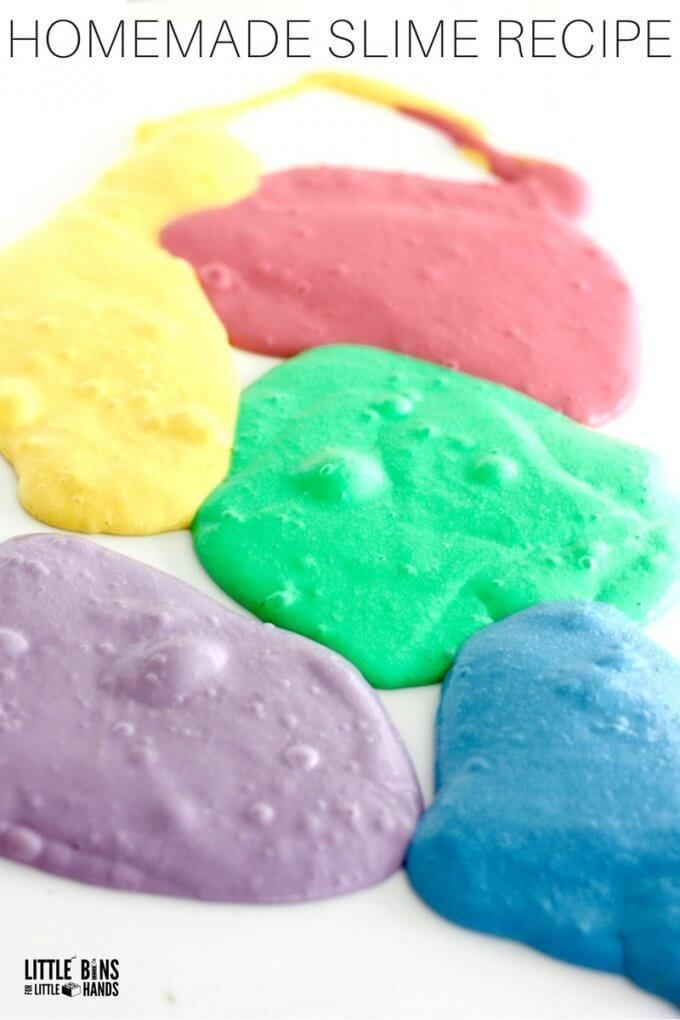 Unicorn slime recipe with stretchy homemade slime pinterest homemade stretchy unicorn slime recipe ccuart Choice Image