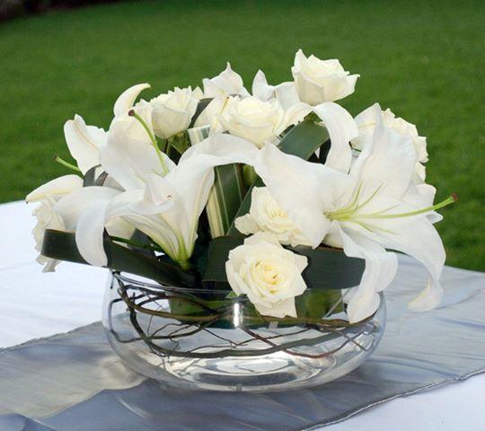 Arreglos Florales para Bodas Campestres En este caso te propongo