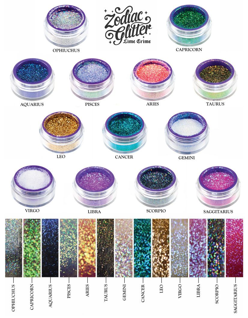 Lime Crime Zodiac Glitter! Lime crime makeup, Lime crime