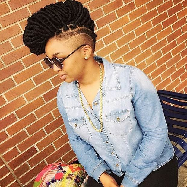 Instagram / 1conik_ Faux Locs Mohawk Sometimes you don't want to keep it simple and when you have the length of faux locs, you have plenty of hair to play around with. Why not look at something that stands out a little more? Such as this great mohawk? There are plenty of designs you could spin your locs into, and you could also play around with that shaved idea again….