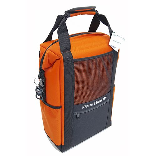 Original BackPack Soft Side Coolers by Polar Bear Coolers. | Best hiking  backpacks, Orange backpacks, Day backpacks